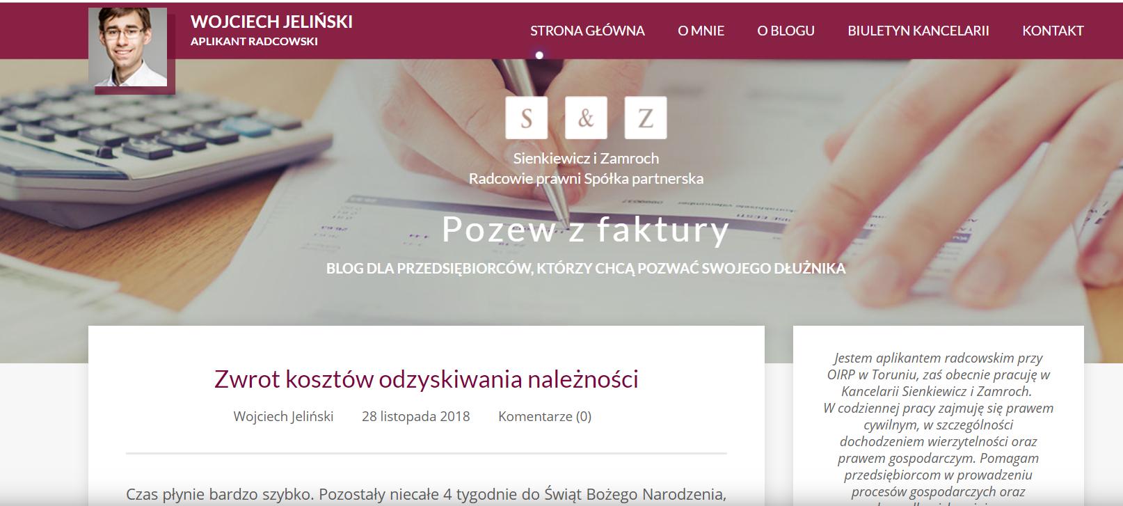 Blog prawniczy wart polecenia